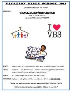 VBS 2013 Flyer